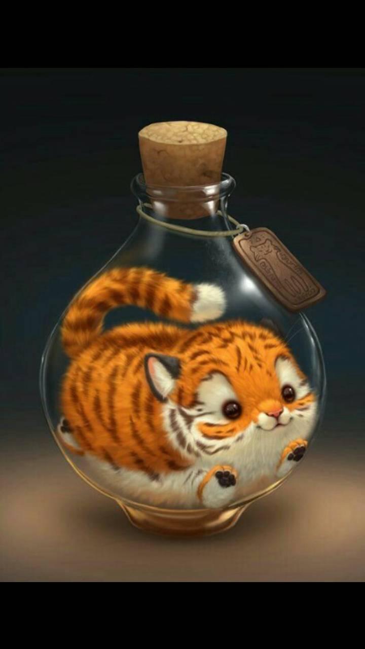Cute Kawaii Tiger Wallpaper By Ella Rose Simpson D0 Free On Zedge