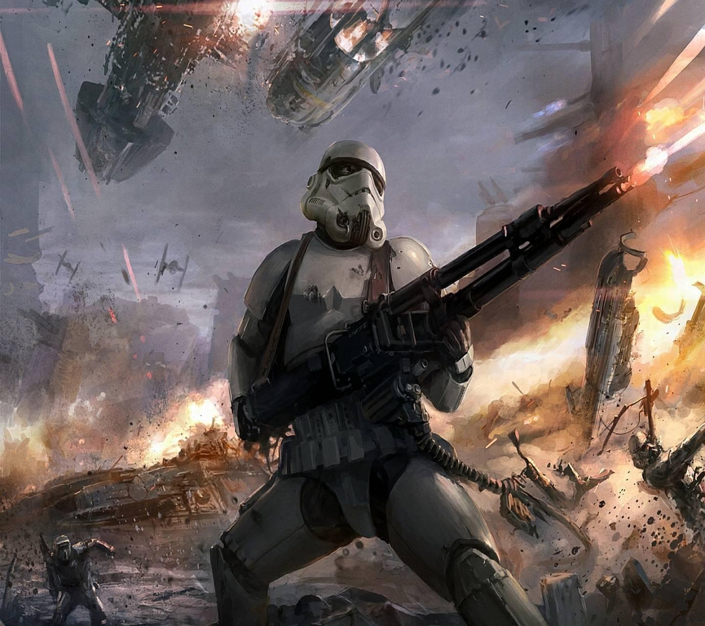 Stormtrooper Battle