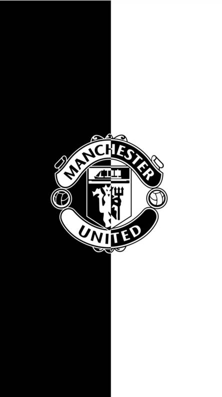 Man Utd Black Wallpaper Cheep Heart Streamaed