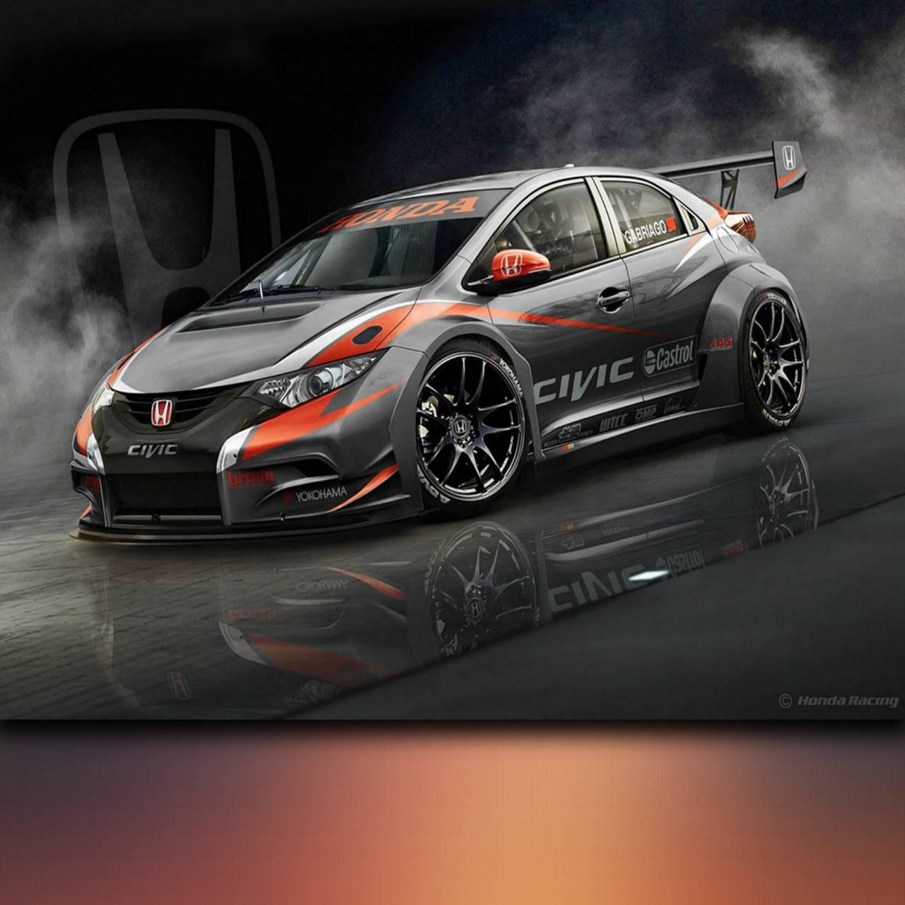 Honda Civic Racing Wallpaper By BadDelta