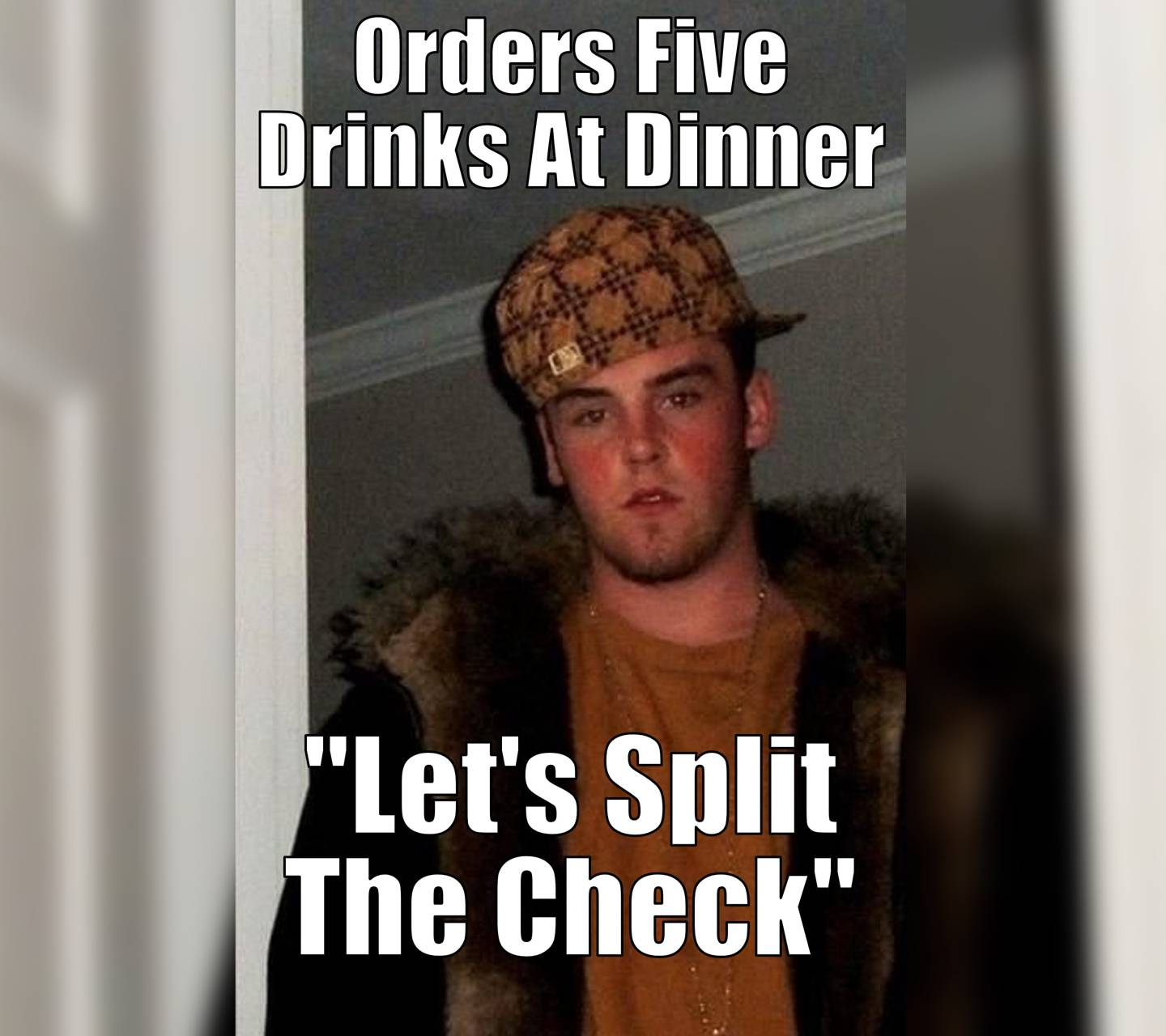 Orders Five Drinks