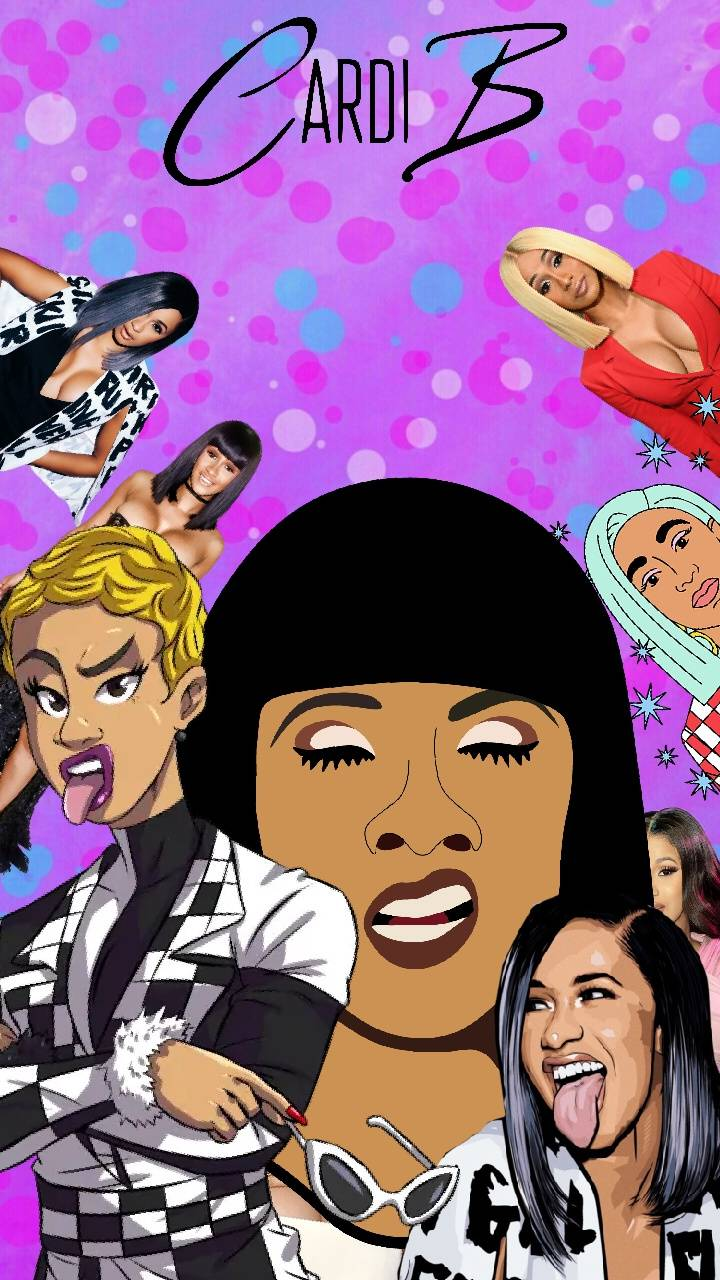 Cardi B Collage Wallpaper By Iamjonnystark 6e Free On Zedge