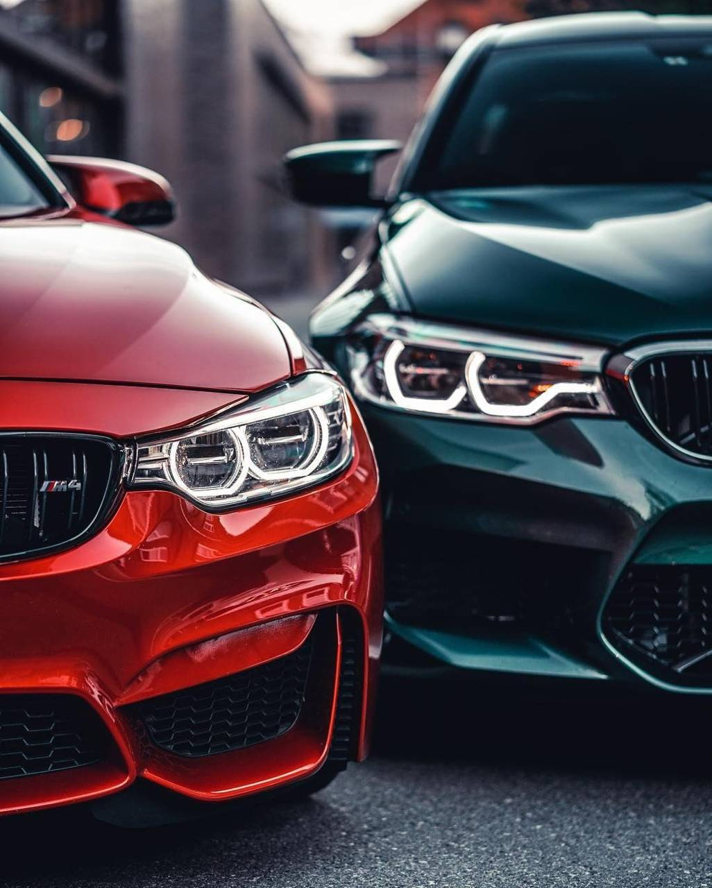 Bmw m4 and m5