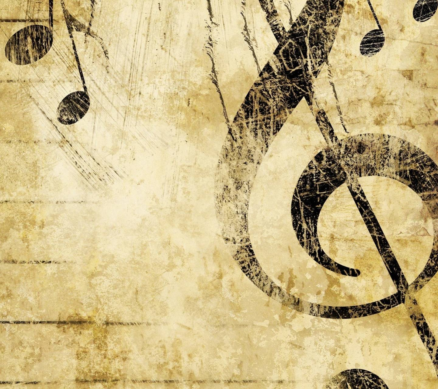 Download free music symbols wallpapers for your mobile phone by vintage music symbol biocorpaavc Images