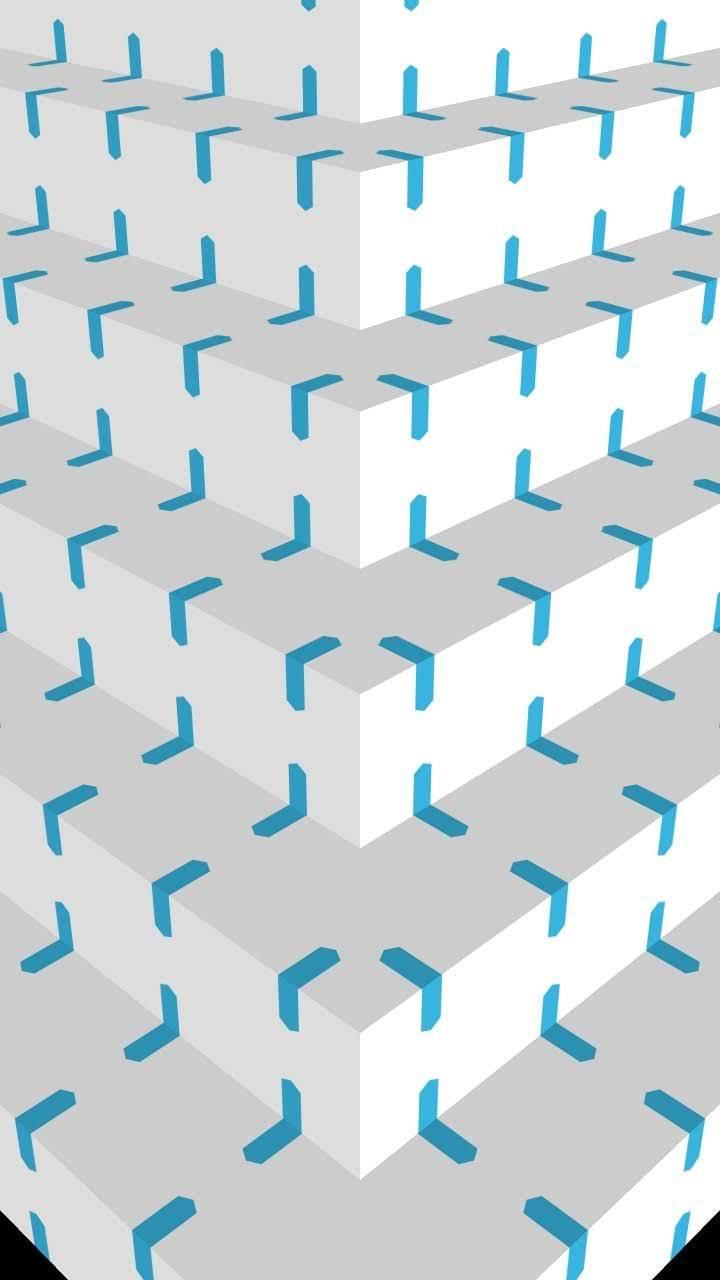 White-Aqua Steps 6