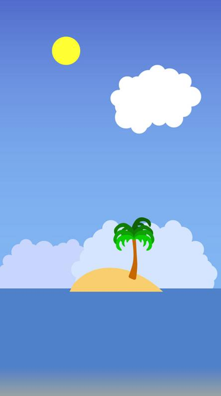 Minimalist island