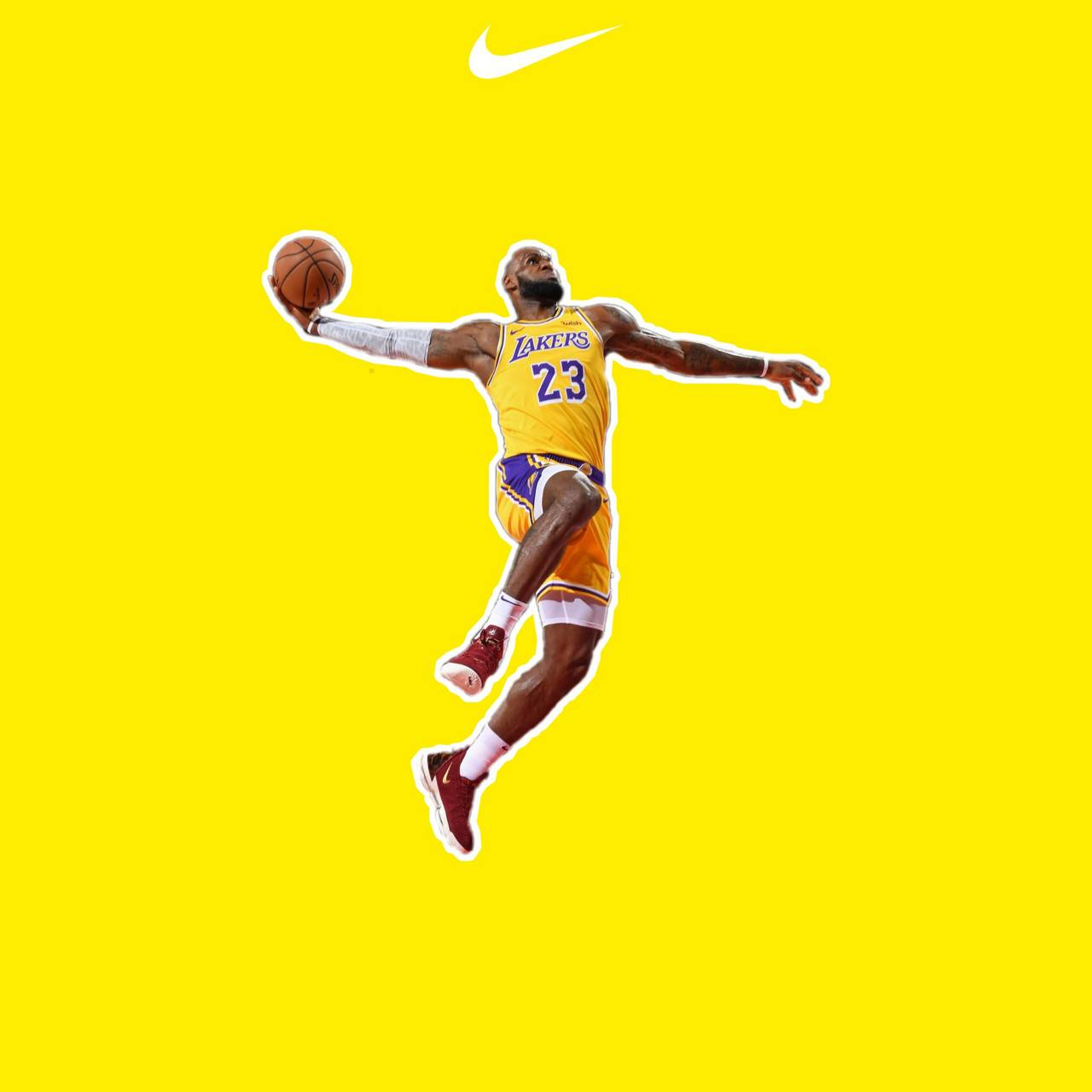 Lebron James wallpaper by emryil1905