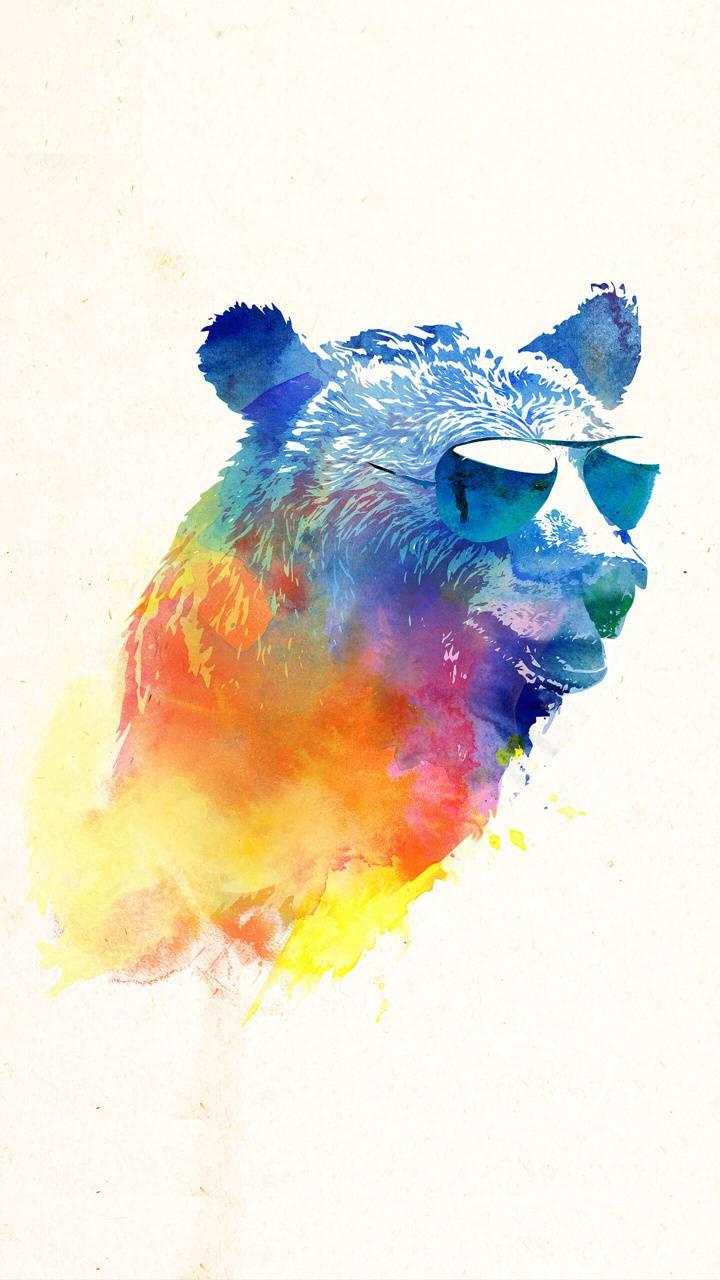 Hippy bear