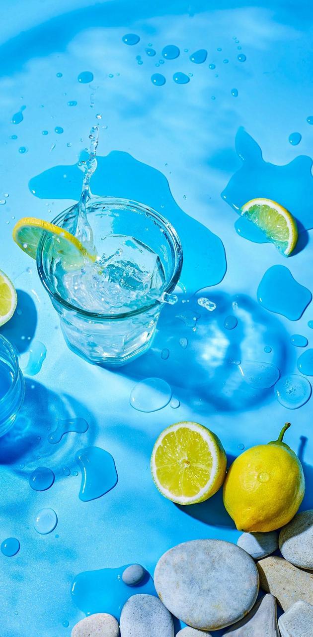 Lemons and vodka