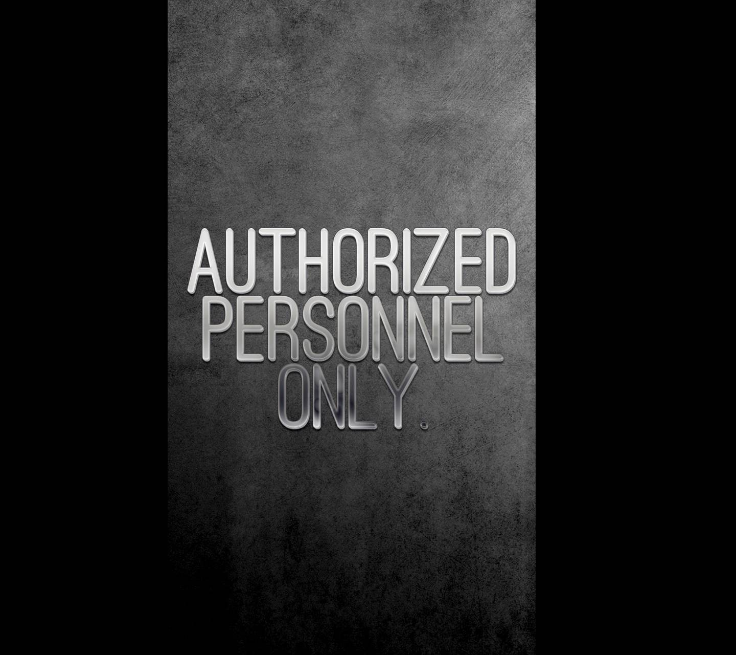 Personnel Only