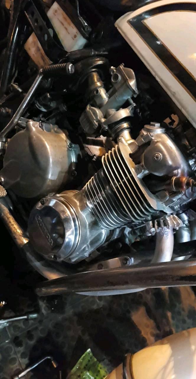 CBX 550 K Engine