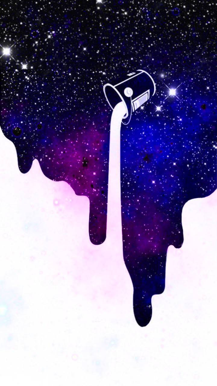 Galaxy Drip Wallpaper By Thesuit03 Db Free On Zedge