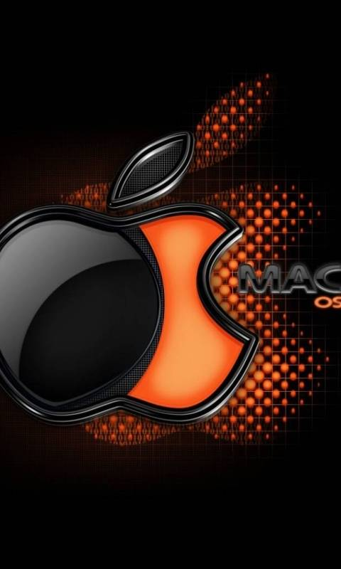 Orange Mac Logo