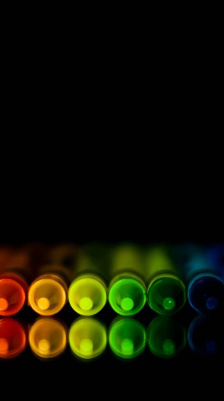 hd colorful crayons