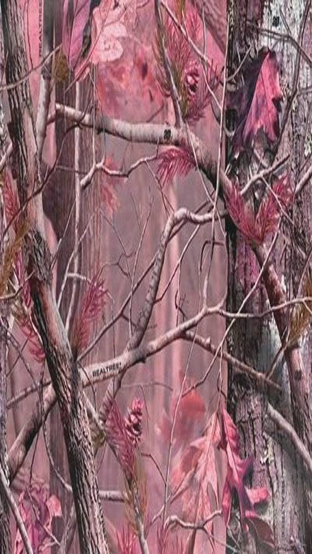 pink camo wallpaper by