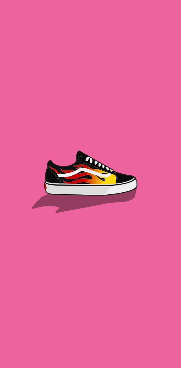 Vans Flame Shoe
