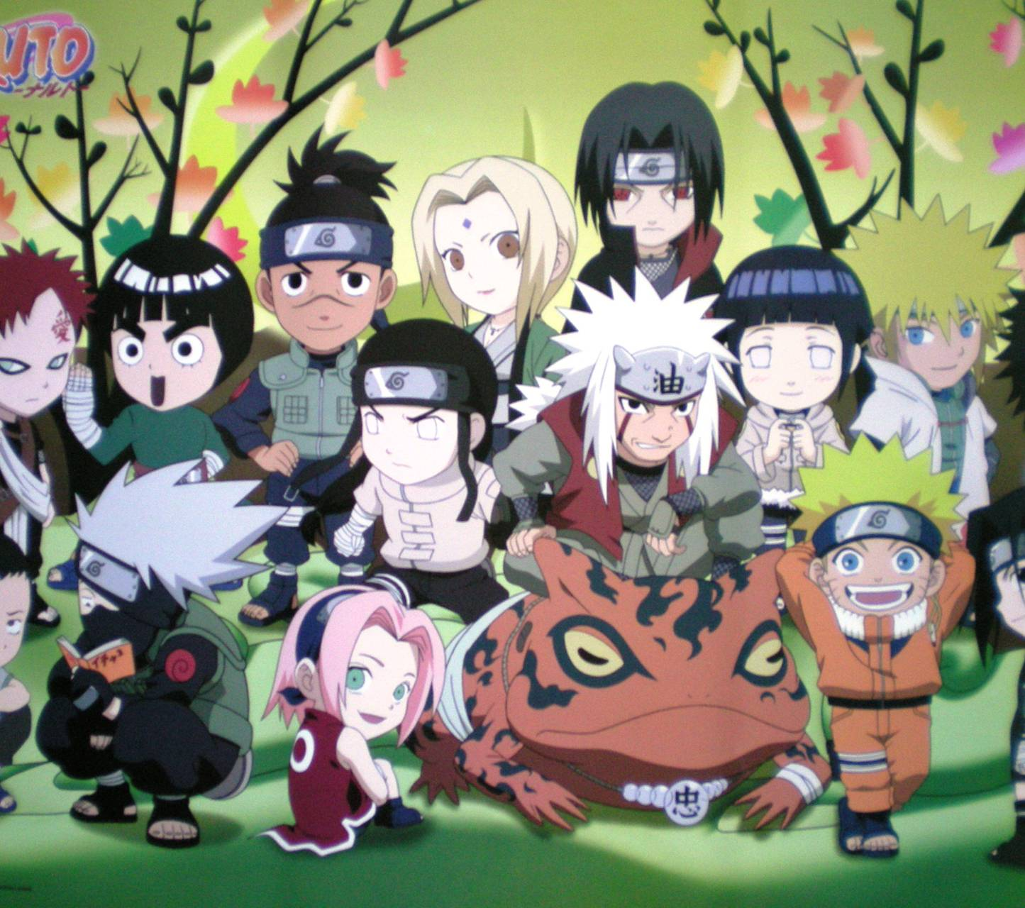 Naruto And Friends Wallpaper By Icewater17
