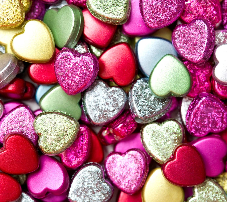 Hearts Pebbles
