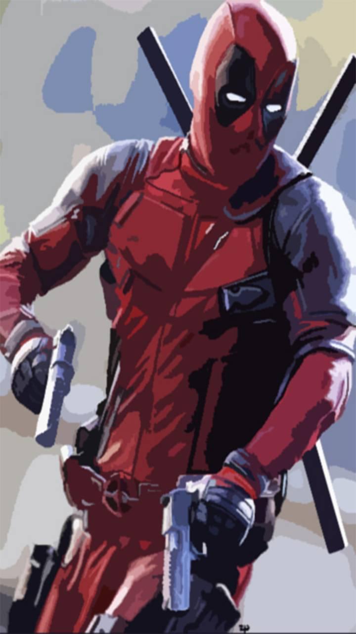 Deadpool Abstract