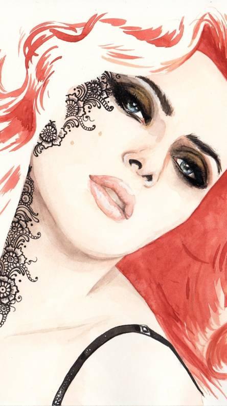 Scarlet J
