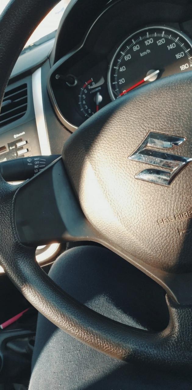 Suzuki car interior