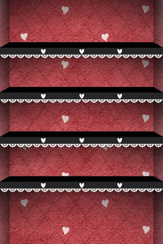 Hearts Shelf