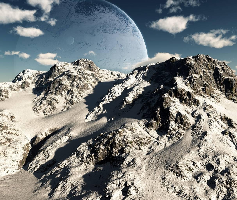 Unreal Mountain