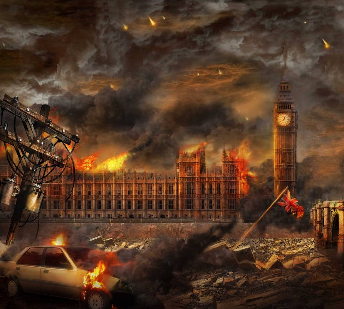 Burning City wallpaper by Sam_ardya - 13 - Free on ZEDGE™