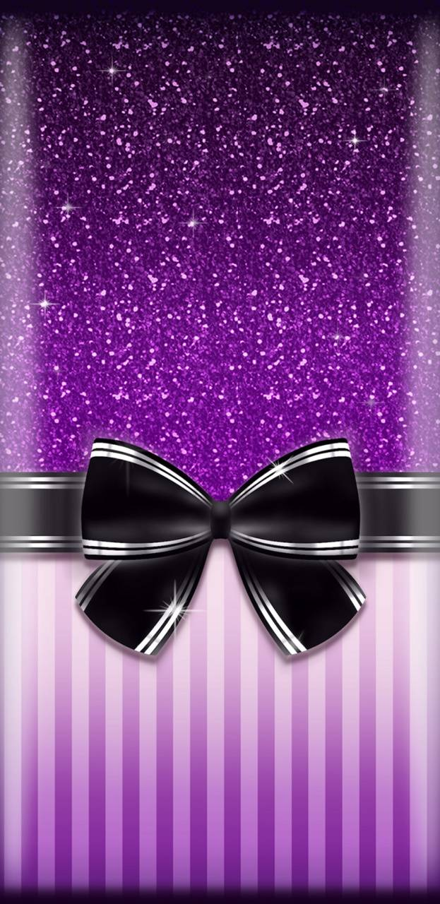 PurpleGBlackBow