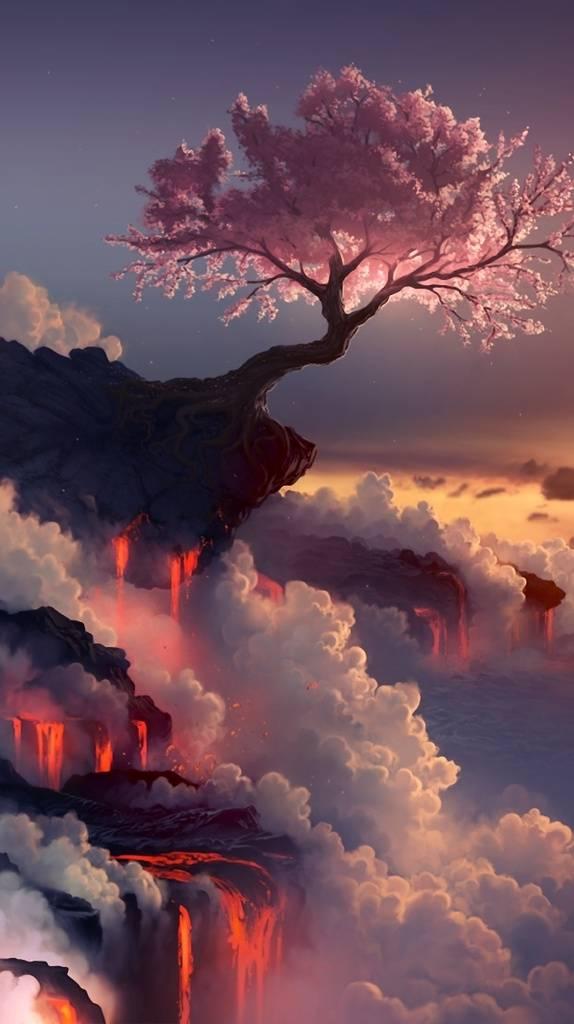 Lava Nature