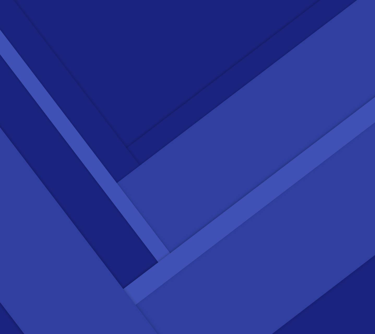 Material Angles Blue