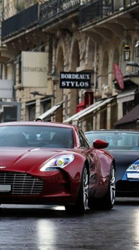 One-77 And Veyron Hd