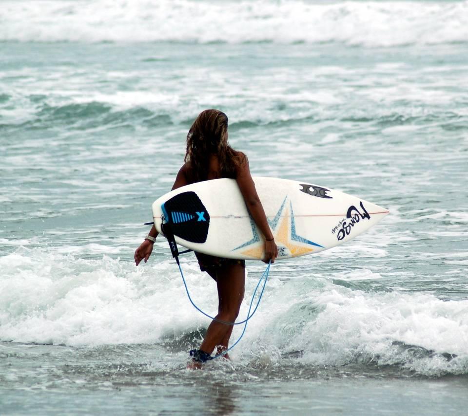Local Surfer Girl