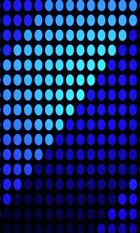 Blue Striped Dot