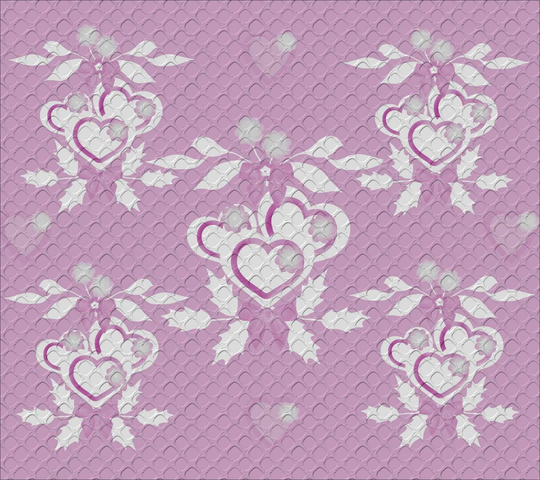 Pink hearts 6