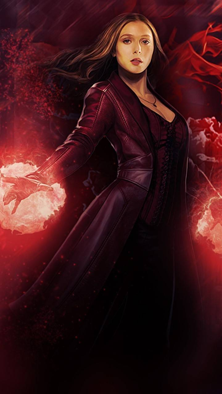 Scarlet Witch Wallpaper By Trizze C3 Free On Zedge