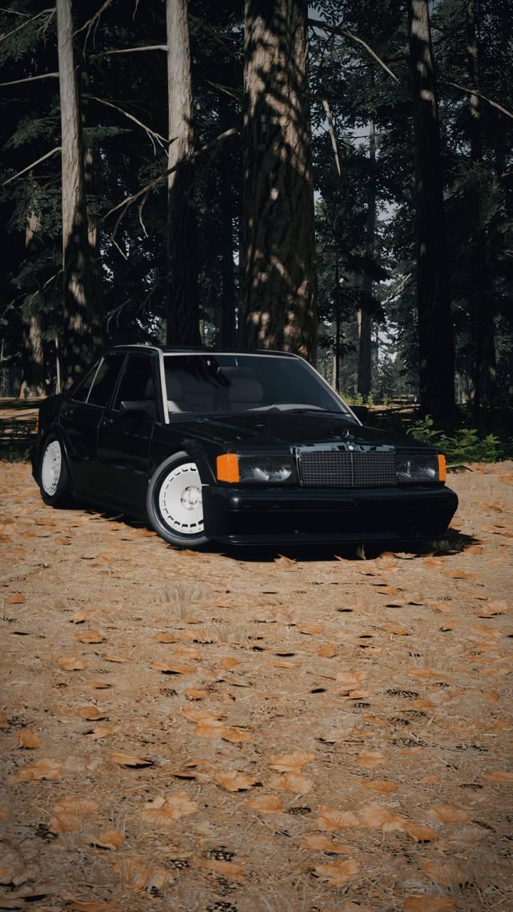 Old Mercedes e190