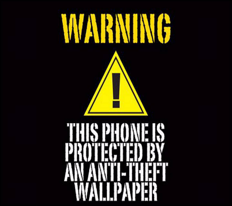 Warning Lock Screen