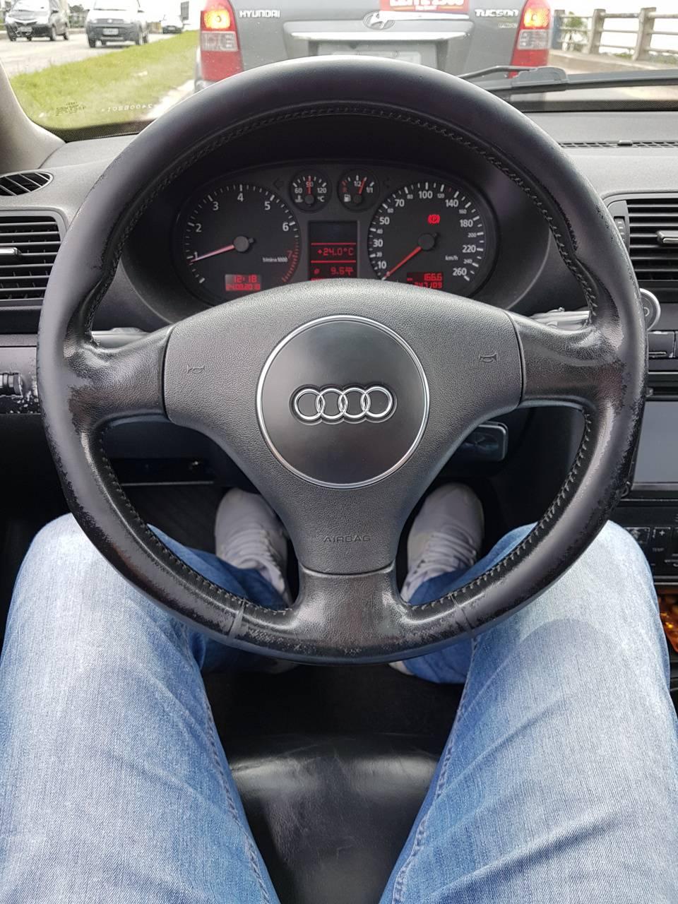 Audi A3 cockpit
