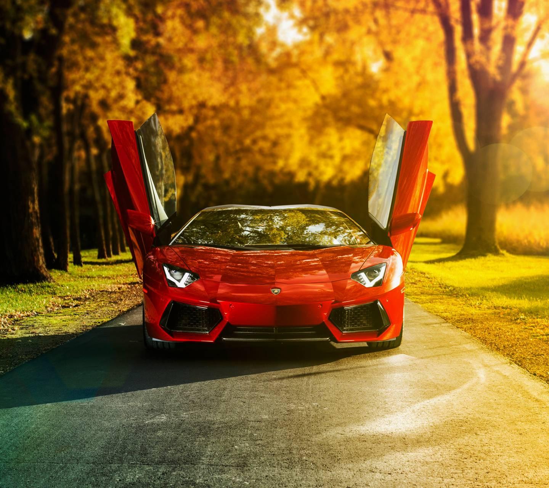 Red Aventador
