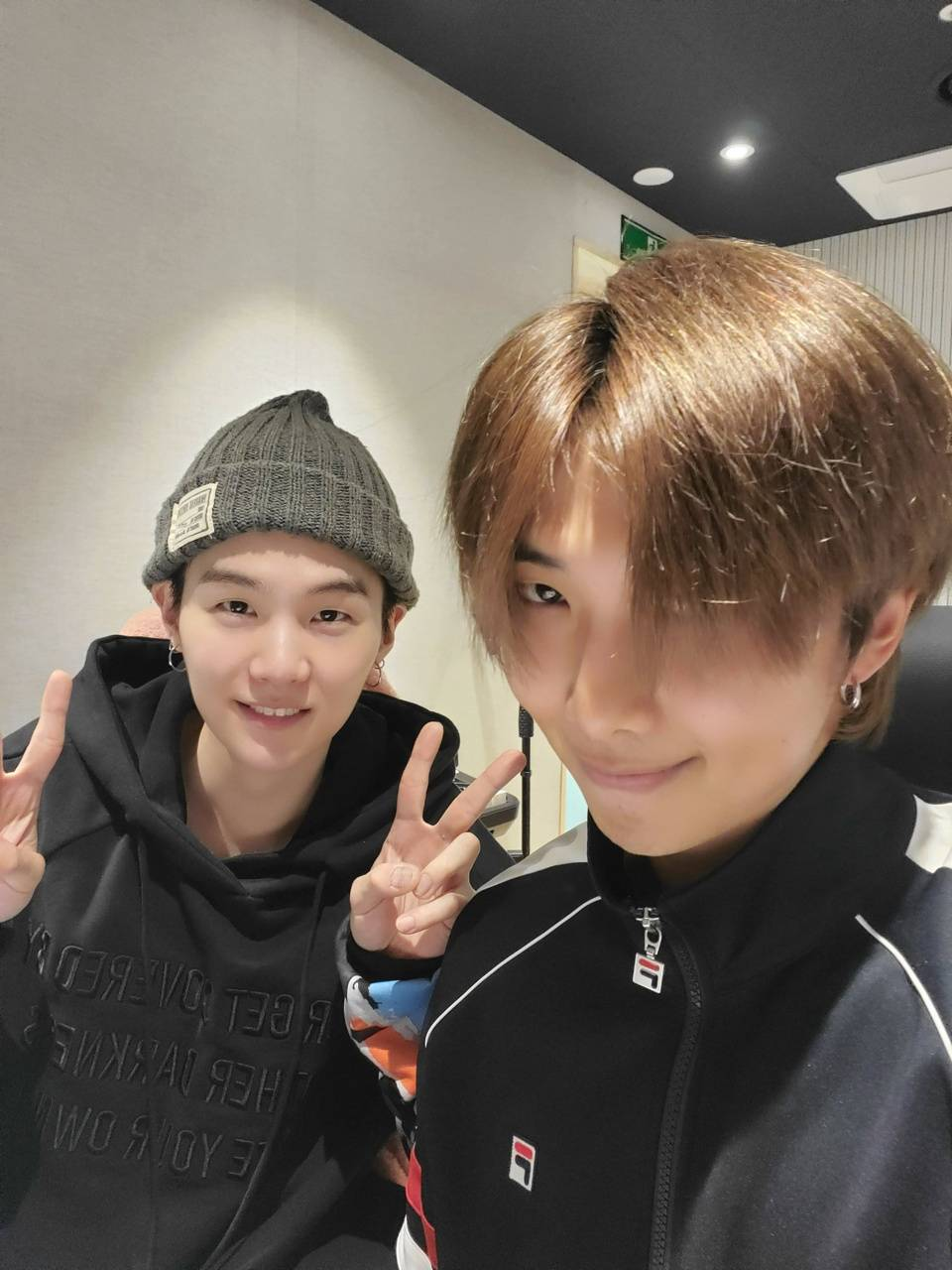 Yoongi and namjoon