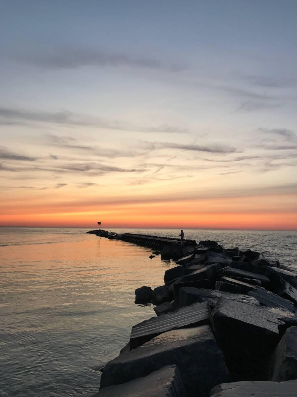 Sunset In Michigan