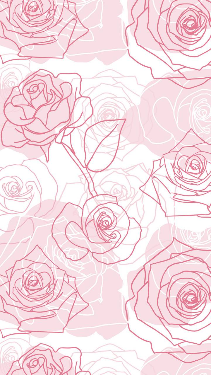 Roses Outlines