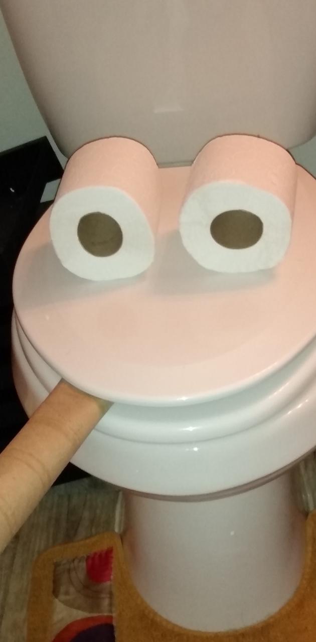 Toilet is smoking