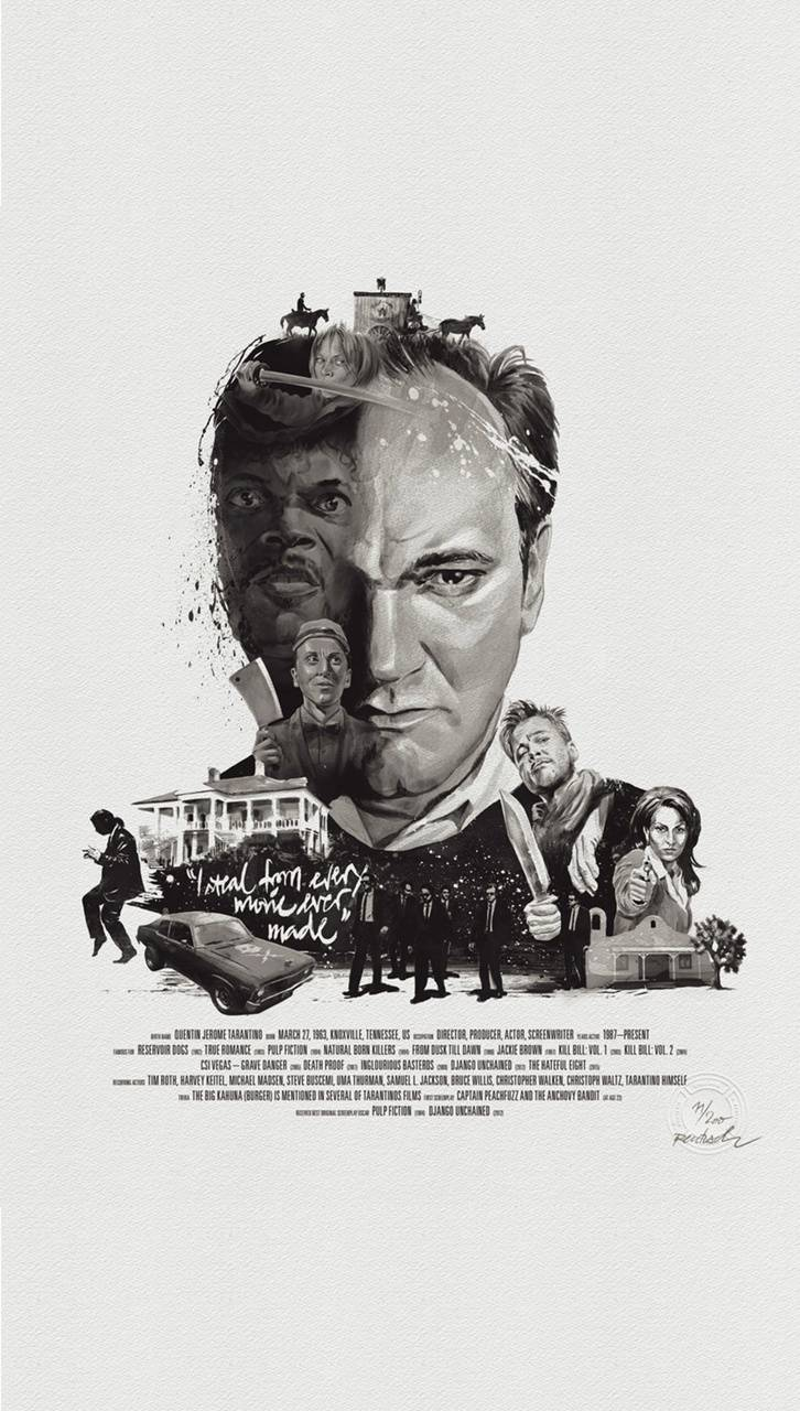 Quentin Tarantino Wallpaper By Juank007 1a Free On Zedge
