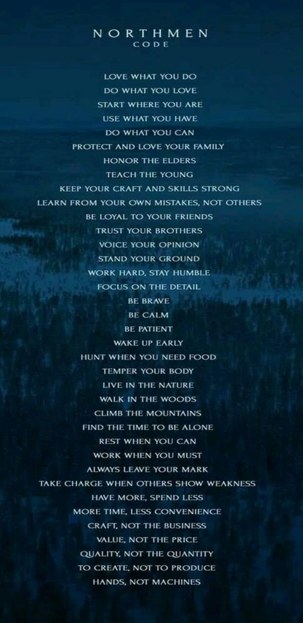 Northmen code