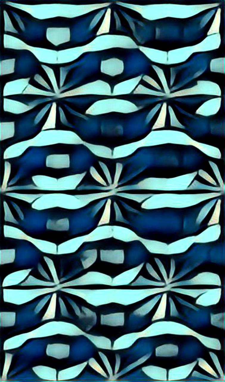 Abstract Blue V01