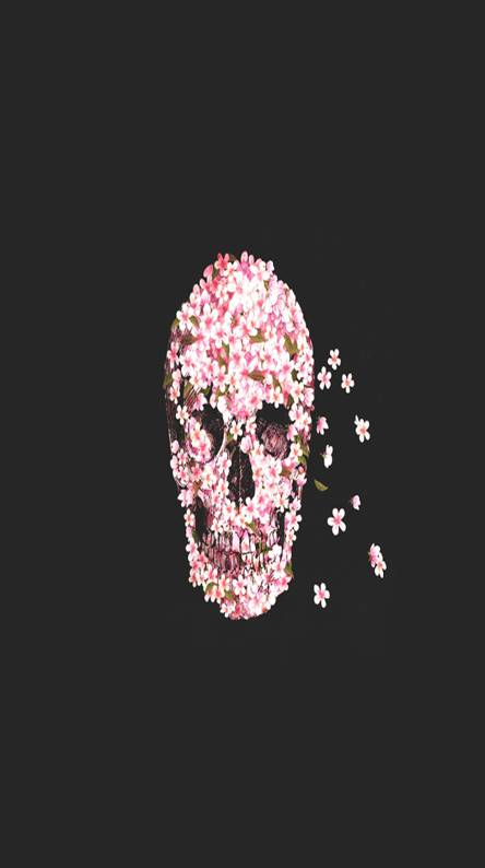 Flower skull wallpapers free by zedge flower skull mightylinksfo