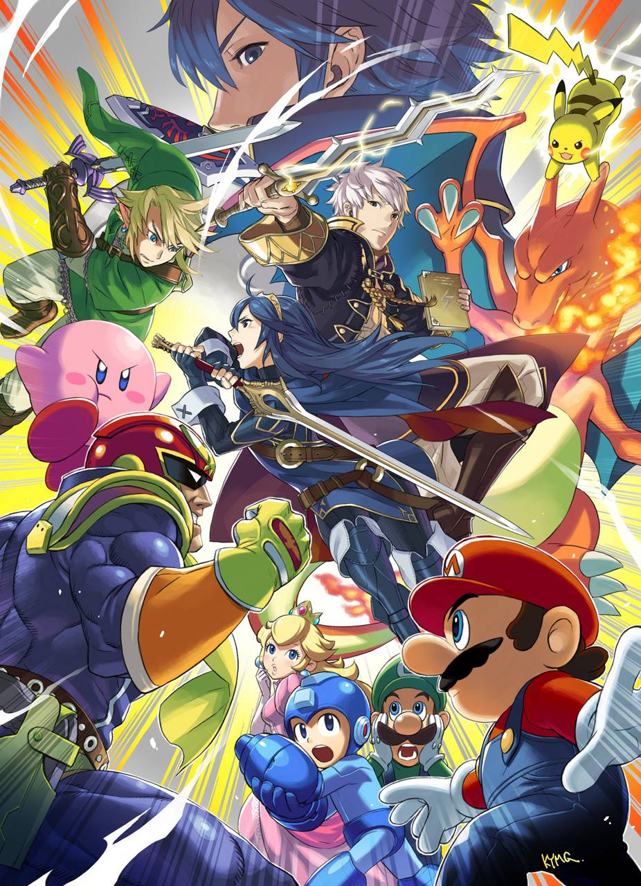 Super Smash Bros 4 Wallpaper By Mrobvious 39 Free On Zedge