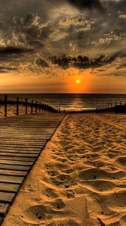 Footprint Sunset